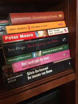 Nieuwe boeken in huis